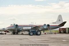 1011 Vickers Viscount 757 9Q-CTU Filair © Michel Anciaux