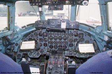 1021 Vickers Viscount 806 G-APEY ex British World Airlines © Michel Anciaux