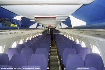 1022 Vickers Viscount 806 G-APEY ex British World Airlines © Michel Anciaux