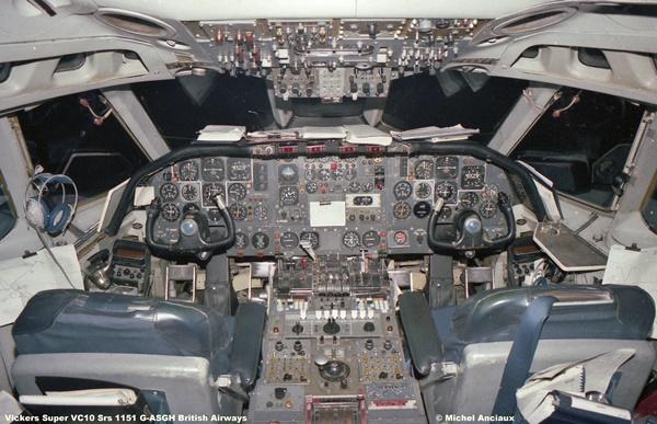 1042 Vickers Super VC10 Srs 1151 G-ASGH British Airways © Michel Anciaux