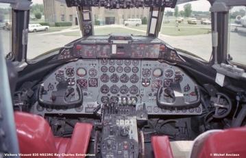 1060 Vickers Vicount 835 N923RC Ray Charles Enterprises © Michel Anciaux
