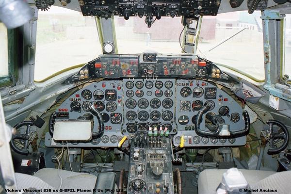 1065 Vickers Viscount 836 ex G-BFZL Planes R Us (Pty) Ltd © Michel Anciaux