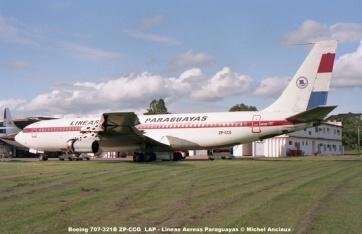 12 Boeing 707-321B ZP-CCG LAP - Lineas Aereas Paraguayas © Michel Anciaux