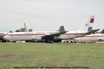 13 Boeing 707-321B ZP-CCG LAP - Lineas Aereas Paraguayas © Michel Anciaux
