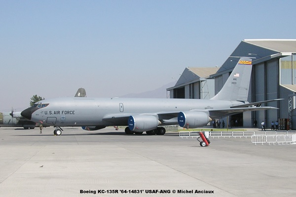 139 Boeing KC-135R '64-14831' USAF-ANG © Michel Anciaux