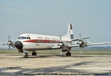 14 Lockheed L-188C Electra ZP-CBZ LAP-Lineas Aereas Paraguayas © Michel Anciaux