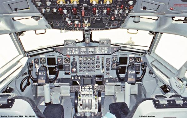 1528 Boeing E-3D Sentry AEW.1 ZH104 RAF © Michel Anciaux