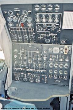 1529 Boeing E-3D Sentry AEW.1 ZH104 RAF © Michel Anciaux