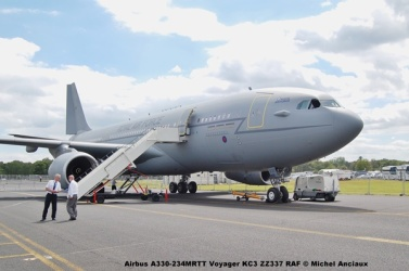 421 Airbus A330-234MRTT Voyager KC3 ZZ337 RAF © Michel Anciaux