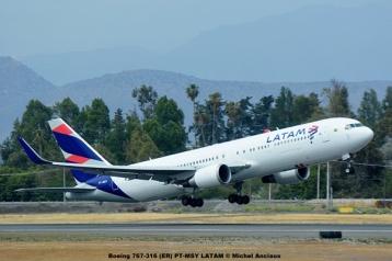 DSC_0243 Boeing 767-316 (ER) PT-MSY LATAM © Michel Anciaux