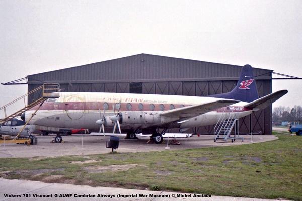 DSC_0517 Vickers 701 Viscount G-ALWF Cambrian Airways (Imperial War Museum) © Michel Anciaux