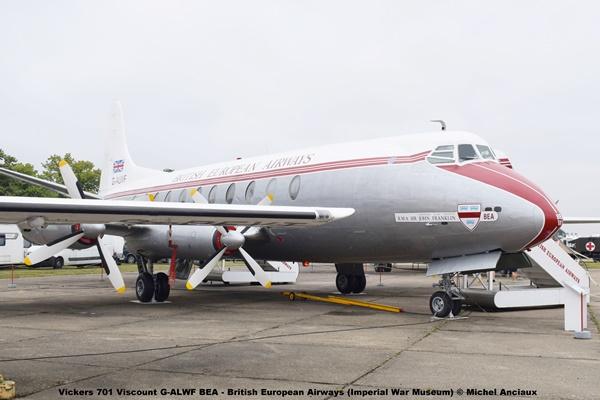 DSC_0518 Vickers 701 Viscount G-ALWF BEA - British European Airways (Imperial War Museum) © Michel Anciaux