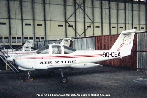 img302 Piper PA-38 Tomahawk 9Q-CEA Air Zaire © Michel Anciaux