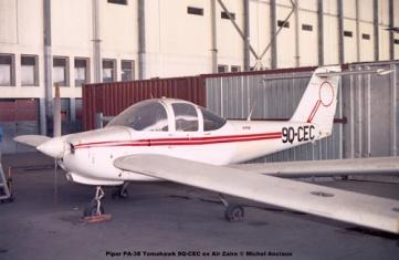 img306 Piper PA-38 Tomahawk 9Q-CEC ex Air Zaire © Michel Anciaux