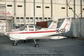 img307 Piper PA-38 Tomahawk 9Q-CED ex Air Zaire © Michel Anciaux