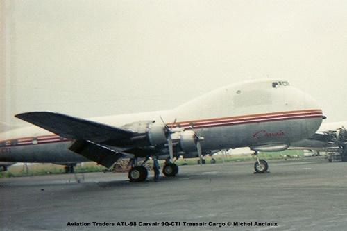 img421 Aviation Traders ATL-98 Carvair 9Q-CTI Transair Cargo © Michel Anciaux