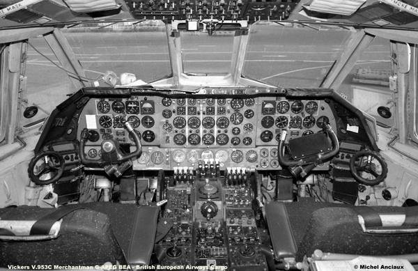 img602 Vickers V.953C Merchantman G-APEG BEA - British European Airways Cargo © Michel Anciaux