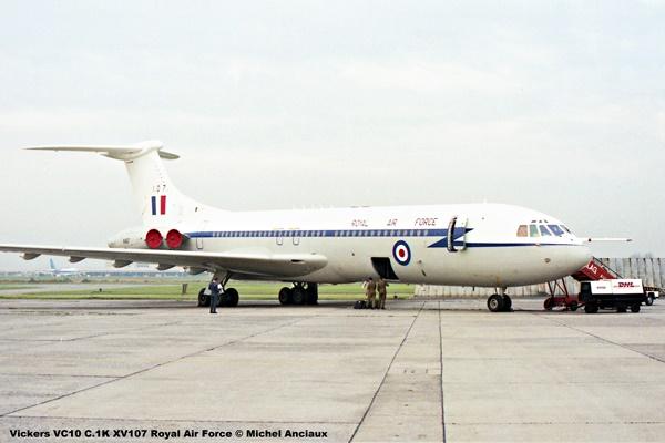 img790 Vickers VC10 C.1K XV107 Royal Air Force © Michel Anciaux