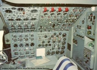 img794 Vickers VC10 C.1K XV107 Royal Air Force © Michel Anciaux