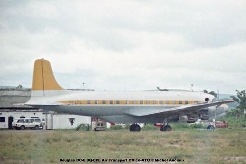 img809 Douglas DC-6 9Q-CPL Air Transport Office-ATO © Michel Anciaux