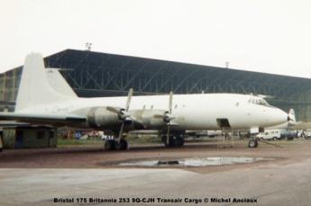 img812 Bristol 175 Britannia 253 9Q-CJH Transair Cargo © Michel Anciaux