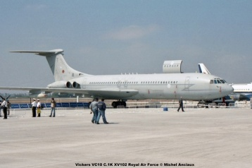 img813 Vickers VC10 C.1K XV102 Royal Air Force © Michel Anciaux