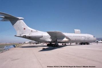 img814 Vickers VC10 C.1K XV102 Royal Air Force © Michel Anciaux