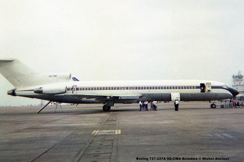 img847 Boeing 727-227A 9Q-CWA Birindwa © Michel Anciaux