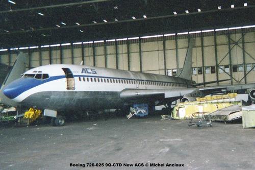 img848 Boeing 720-025 9Q-CTD New ACS © Michel Anciaux