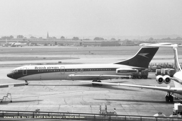 img849 Vickers VC10 Srs 1101 G-ARVI British Airways © Michel Anciaux