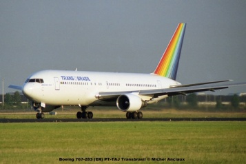 img888 Boeing 767-283 (ER) PT-TAJ Transbrasil © Michel Anciaux