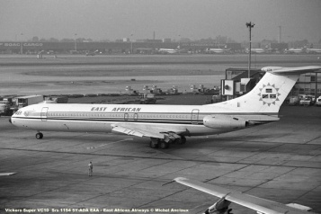 img951 Vickers Super VC-10 Srs 1154 5Y-ADA EAA - East African Airways © Michel Anciaux