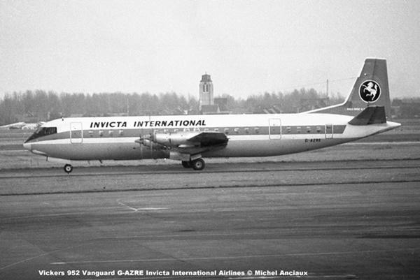 img953 Vickers V.952 Vanguard G-AZRE Invicta International Airlines © Michel Anciaux