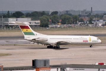 img954 Vickers VC10 Srs 1102 9G-ABO Ghana Airways © Michel Anciaux