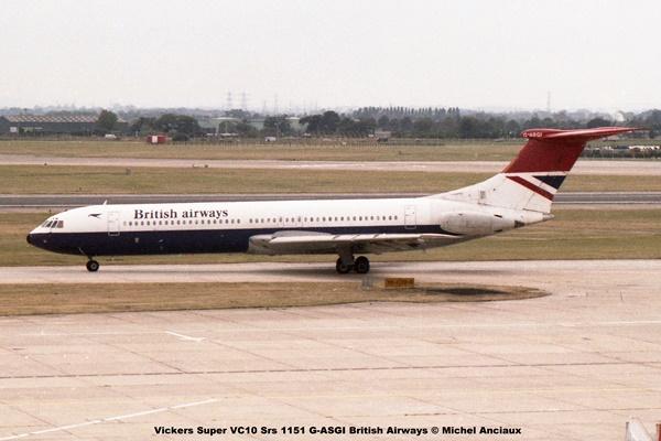 img971 Vickers Super VC10 Srs 1151 G-ASGI British Airways © Michel Anciaux