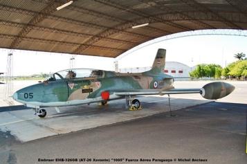 003 Embraer EMB-326GB (AT-26 Xavante) ''1005'' Fuerza Aérea Paraguaya © Michel Anciaux