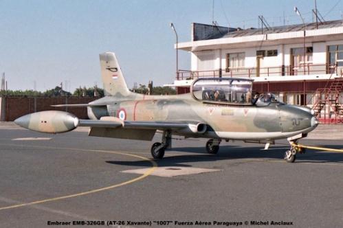 005 Embraer EMB-326GB (AT-26 Xavante) ''1007'' Fuerza Aérea Paraguaya © Michel Anciaux