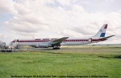 005 McDonnell Douglas DC-8-63 ZP-CCH LAP - Lineas Aereas Paraguayas © Michel Anciaux