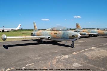 007 Embraer EMB-326GB (AT-26 Xavante) ''1007'' Fuerza Aérea Paraguaya © Michel Anciaux