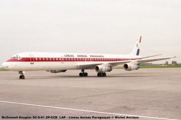 007 McDonnell Douglas DC-8-61 ZP-CCR LAP - Lineas Aereas Paraguayas © Michel Anciaux