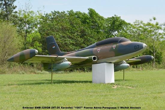 009 Embraer EMB-326GB (AT-26 Xavante) ''1007'' Fuerza Aérea Paraguaya © Michel Anciaux