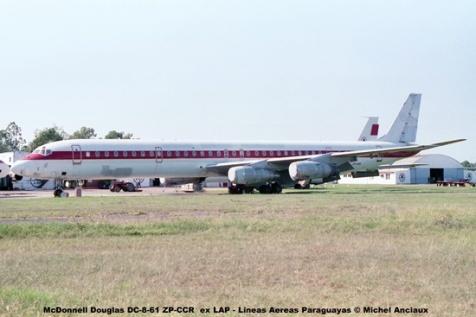 009 McDonnell Douglas DC-8-61 ZP-CCR ex LAP - Lineas Aereas Paraguayas © Michel Anciaux