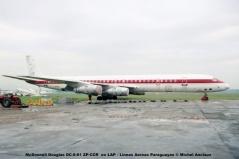 011 McDonnell Douglas DC-8-61 ZP-CCR ex LAP - Lineas Aereas Paraguayas © Michel Anciaux