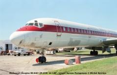 012 McDonnell Douglas DC-8-61 ZP-CCR ex LAP - Lineas Aereas Paraguayas © Michel Anciaux