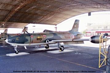 015 Embraer EMB-326GB (AT-26 Xavante) ''1010'' Fuerza Aérea Paraguaya © Michel Anciaux
