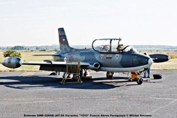 016 Embraer EMB-326GB (AT-26 Xavante) ''1010'' Fuerza Aérea Paraguaya © Michel Anciaux