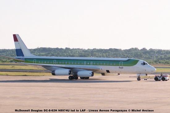 017 McDonnell Douglas DC-8-62H N8974U lsd to LAP - Lineas Aereas Paraguayas © Michel Anciaux