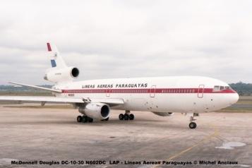 03 McDonnell Douglas DC-10-30 N602DC LAP - Lineas Aereas Paraguayas © Michel Anciaux