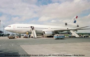 08 McDonnell Douglas DC-10-30 F-BTDB European Airlift lsd to LAP - Lineas Aereas Paraguayas © Michel Anciaux
