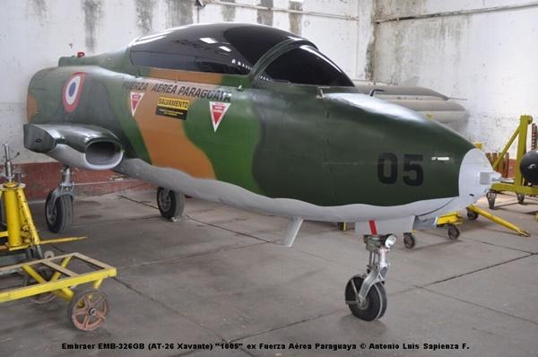 Embraer EMB-326GB (AT-26 Xavante) ''1005'' ex Fuerza Aérea Paraguaya © Antonio Luis Sapienza F.